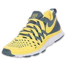 reputable site 86fd9 01387 Men s Nike Free Trainer 5.0 Cross Training Shoes   FinishLine.com   Armory  Slate Sonic Yellow