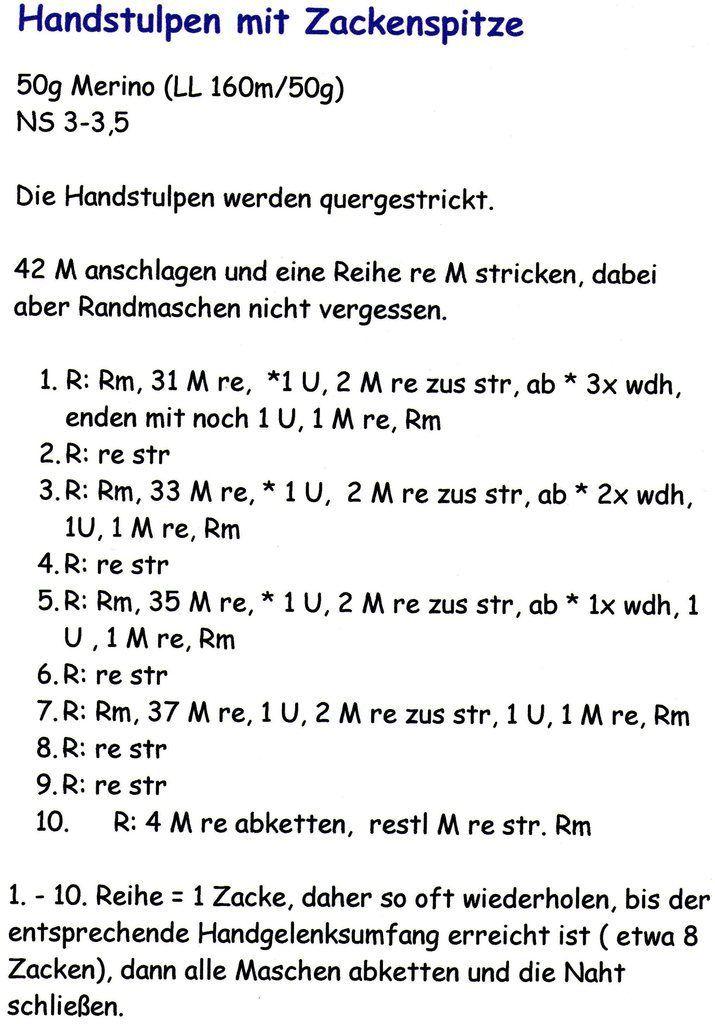 Photo of Anleitung zum Stricken von Manschetten mit Spitze (Schritt für Schritt)
