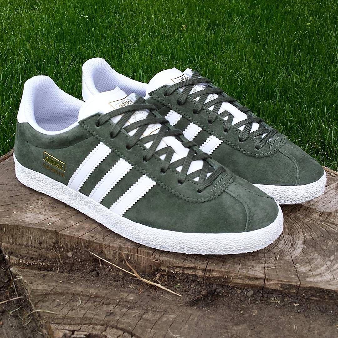 sports shoes f6b55 897f2 adidas Originals Gazelle OG Base Green