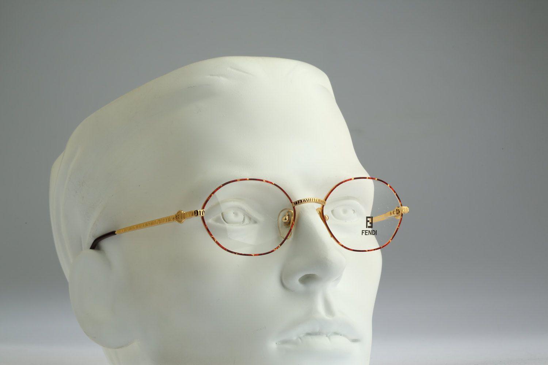 7bb311d55237 Fendi Mod FV 277 Col 226   Vintage eyeglasses and sunglasses   NOS   90s  Designer eyewear by CarettaVintage on Etsy