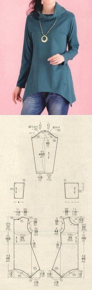 costura #moldes   abrigos   Pinterest   Costura, Ropa y Patrones de ...