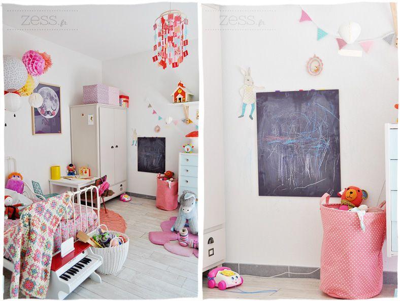 La chambre de Lily-Rose, partie 1/2 | Filles vintage, Design rétro ...