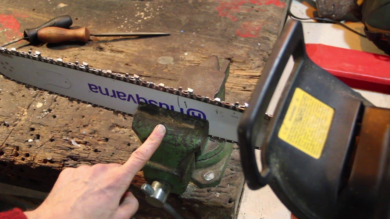 Chainsaw sharpening how to youtube chainsaw