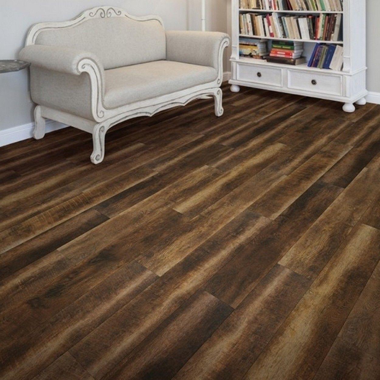 Coretec Hd 50lvr651 Vineyard Barrel Driftwood Deco Baroque Plancher Parquet En Chene