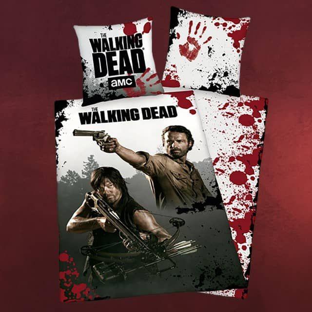 Walking Dead Rick Und Dixon Wende Bettwäsche Elbenwald