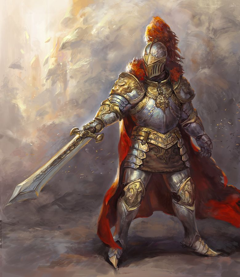 Armored Red Knight
