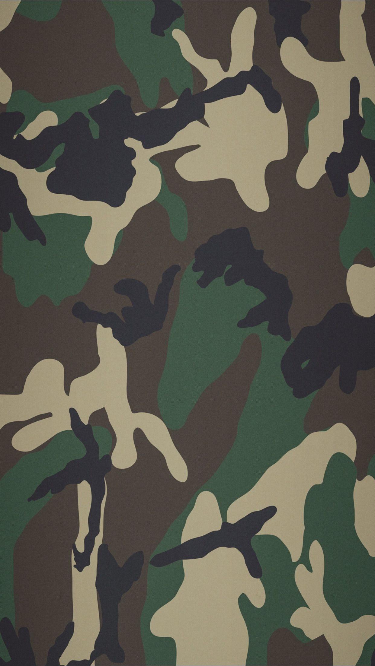 Wallpaper de Edanur Erdul Papel de parede camuflado
