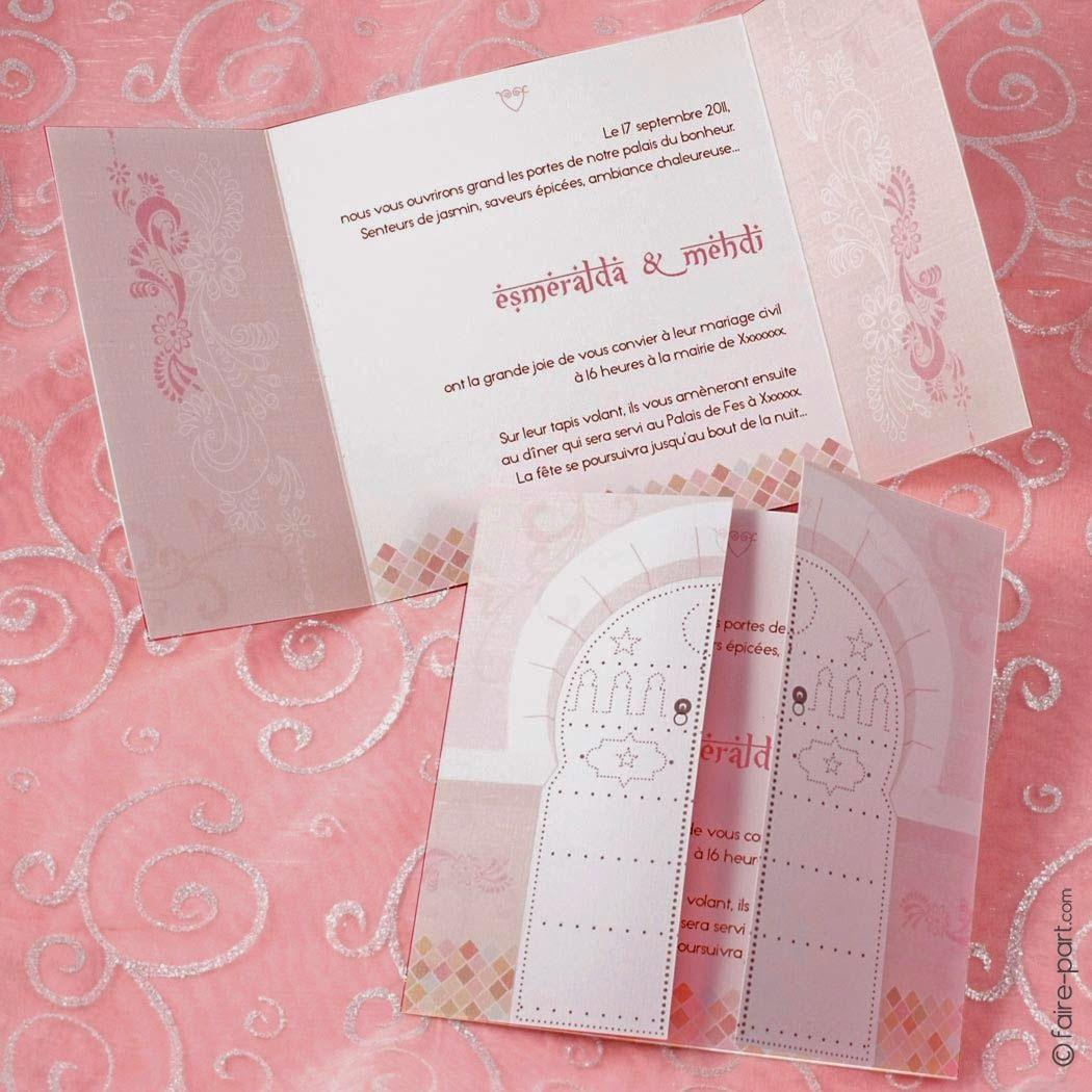 Idée Texte Faire Part Mariage Oriental Henné Mariage