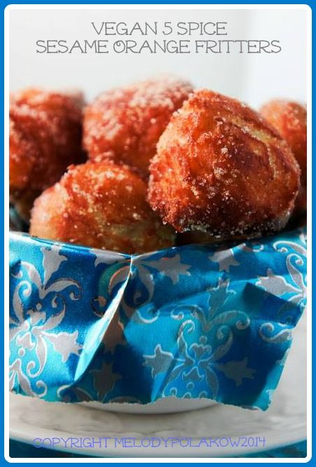 These fritters are very similar to donut holes. They are yeast risen, but really easy to make.