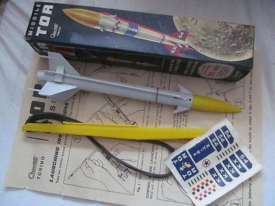 #Early #1960s made in italy quercetti missile tor #space rocket,  View more on the LINK: http://www.zeppy.io/product/gb/2/232080838044/