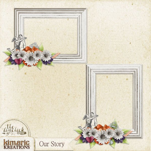 kimeric kreations: Our Story - new this week & a frame cluster to ...