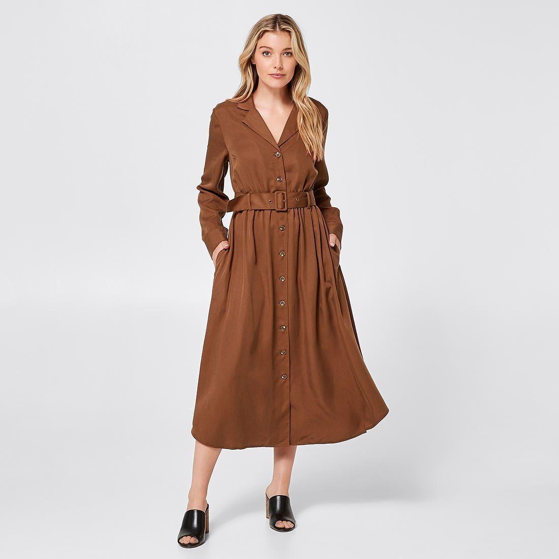 Long Sleeve Midi Shirt Dress Tortoise Shell Brown Target Australia Long Sleeve Midi Shirt Dress Shirt Dress Midi Shirt Dress [ 1100 x 1100 Pixel ]