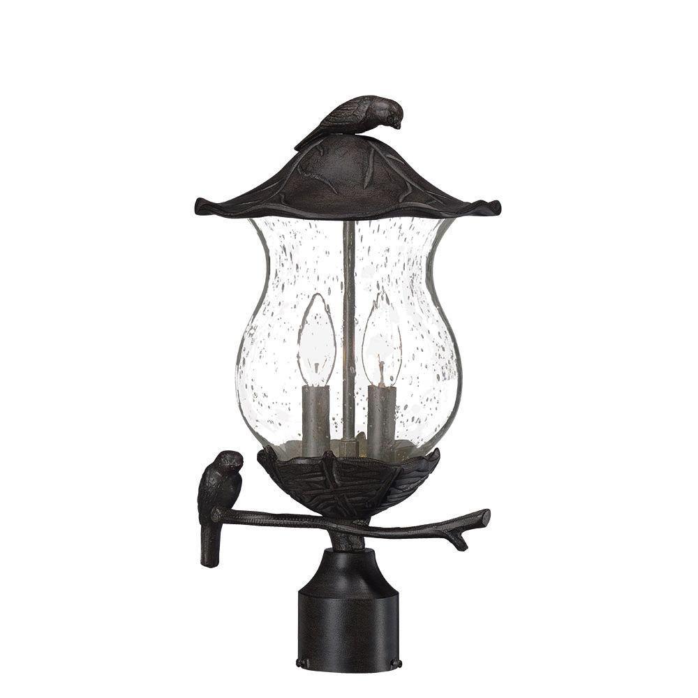 Callaway 15 1 2 High Rustic Bronze Led Outdoor Post Light 1f983 Lamps Plus In 2021 Outdoor Post Lights Solar Lamp Post Light Solar Lamp Post