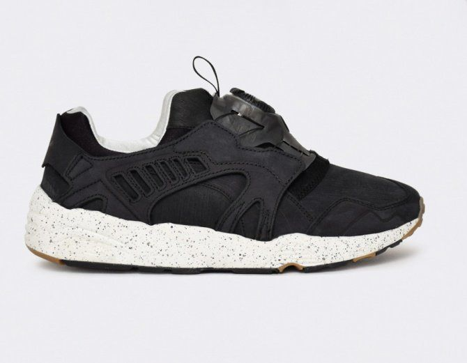 Puma Trinomic Disc n Calm Black #sneakers | Look