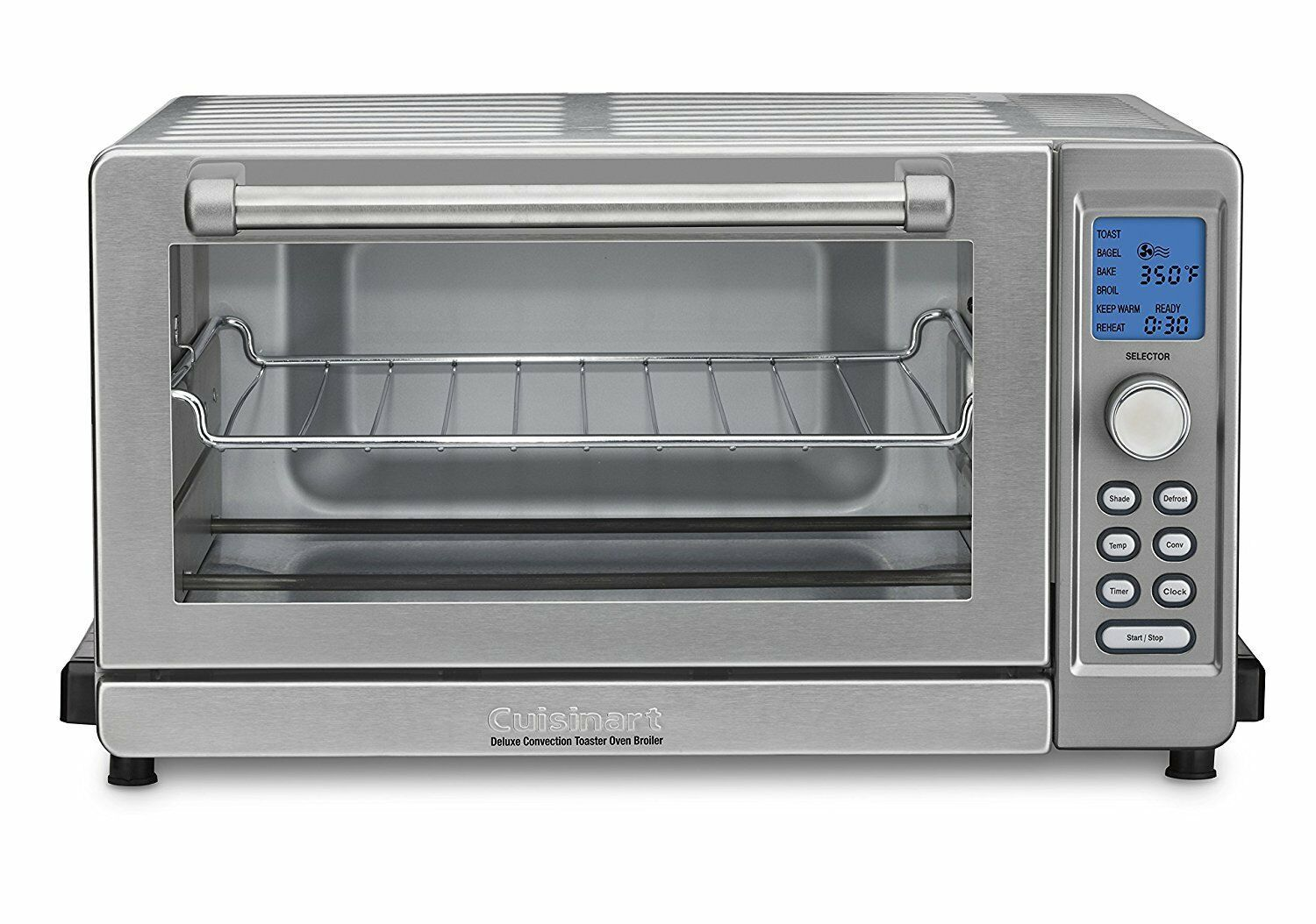 Cuisinart Tob 135 Deluxe Convection Toaster Oven Broiler Stainless Steel Countertop Oven Convection Toaster Oven Toaster Oven Reviews