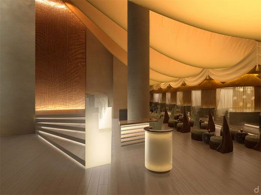 Sultan Lounge Interior Design At The Mandarin Oriental Hotel Malaysia