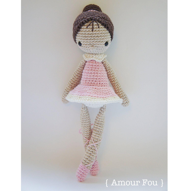 Paloma, the Ballerina - Crochet Pattern by {Amour Fou} | Crochet ...