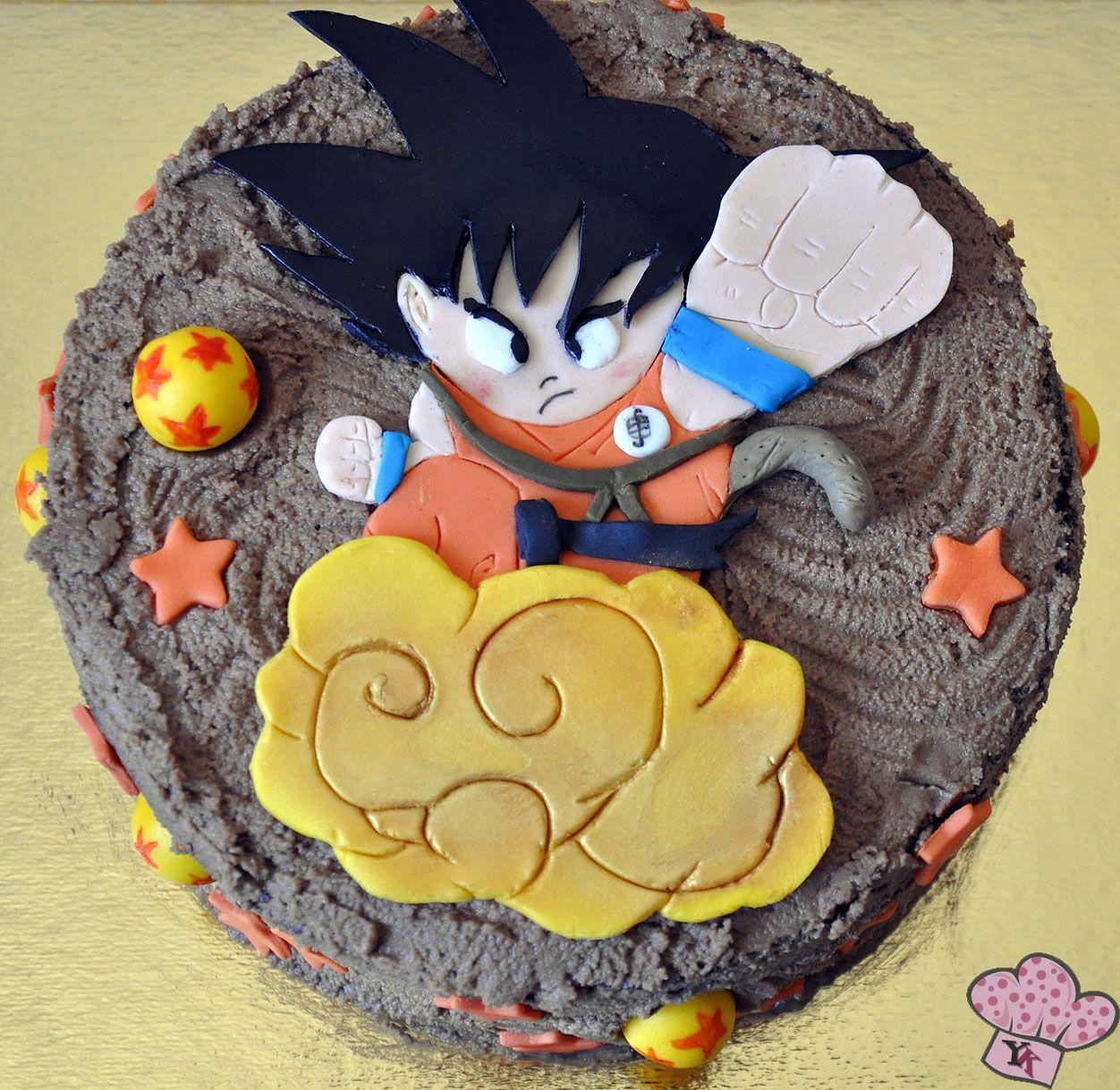 Tarta Son Goku Dragon Ball Cake Birthday Parties Pinterest