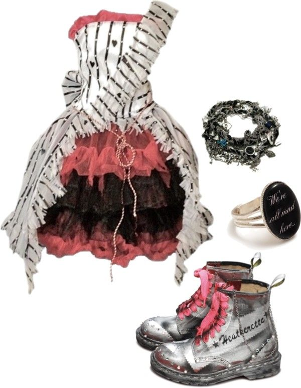 """""""Alice in Wonderland"""" by bvb3666 ❤ liked on Polyvore"""