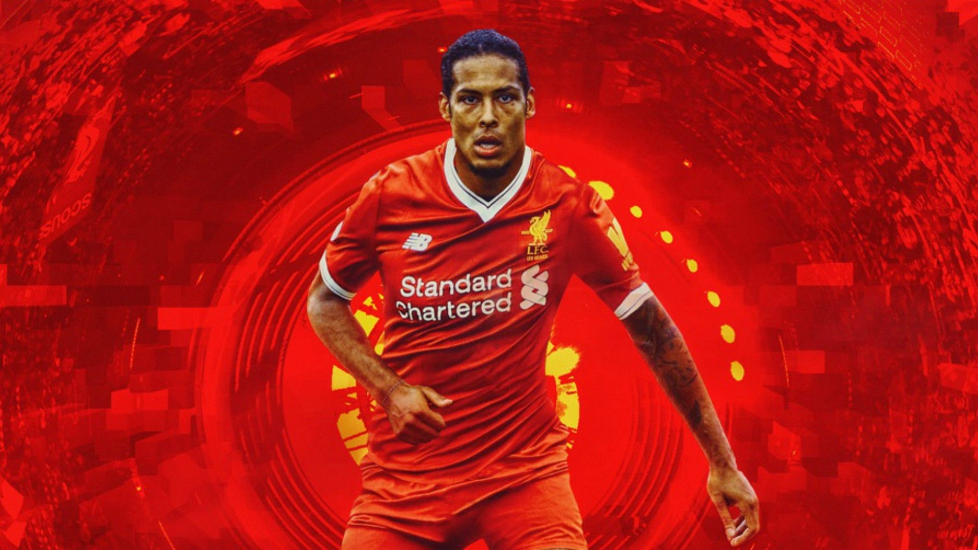 Virgil Van Dijk Liverpool Wallpaper Liverpool Wallpapers