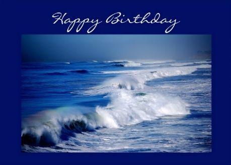 Happy Birthday Ocean Man Happy Birthday Rainbow Ocean Theme