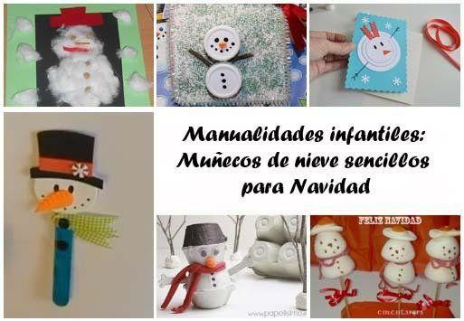 Seguro que los peques también quieren hacer adornos navideños para la casa, ¿verdad? Aquí tenéis algunas ideas.
