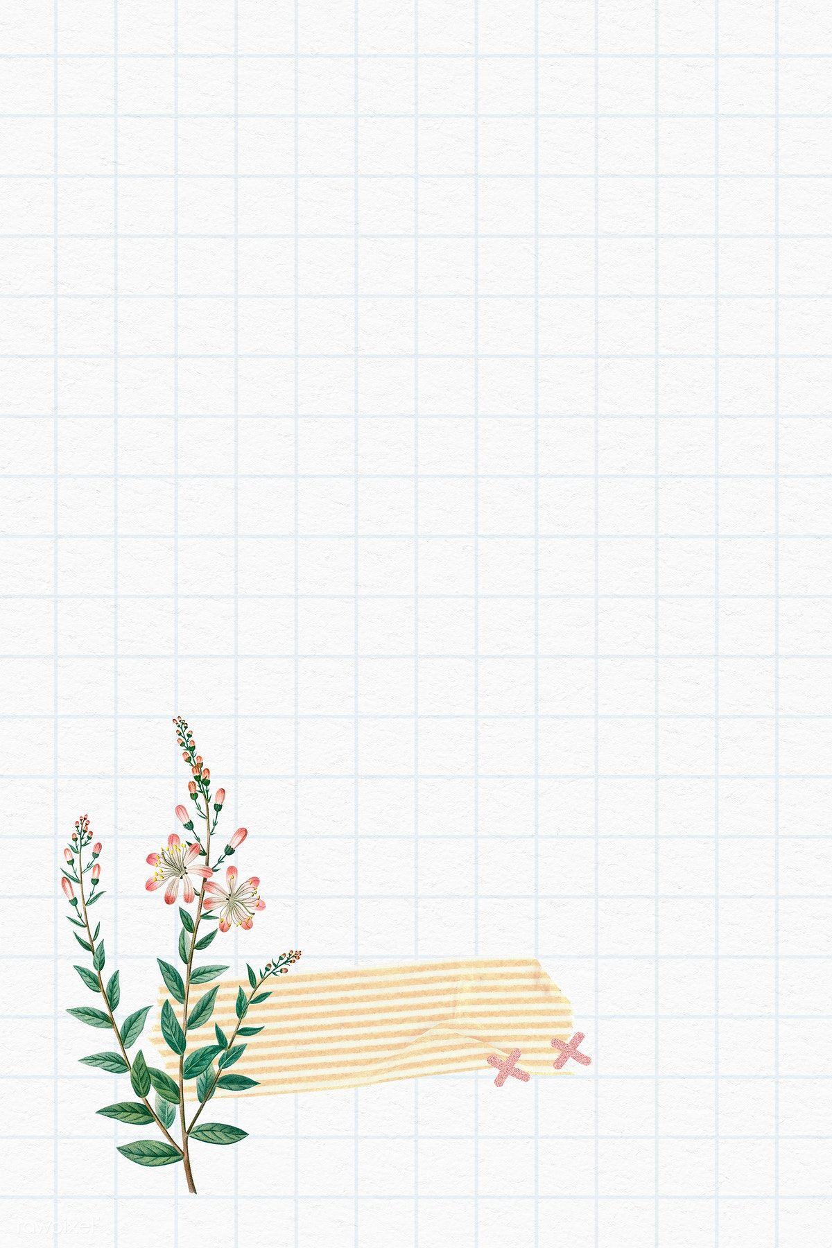 Tarflower On Grid Background Illustration Premium Image By Rawpixel Com Ningzk V In 2020 Instagram Frame Template Photo Collage Template Instagram Photo Frame
