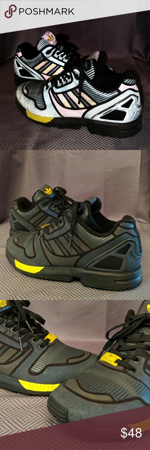 separation shoes cbfb8 48876 Adidas Torsion Reflective Men's/big boys size 5. Used but ...