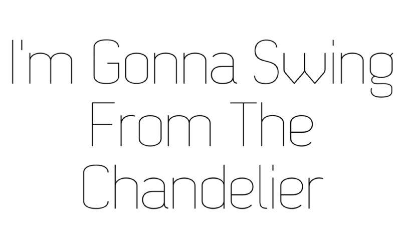 Chandelier // Sia