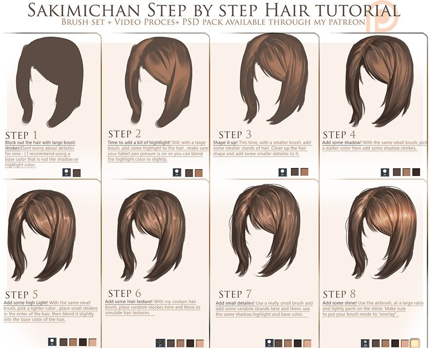 Imgur The Most Awesome Images On The Internet Drawing Tutorial How To Draw Hair Digital Painting Tutorials