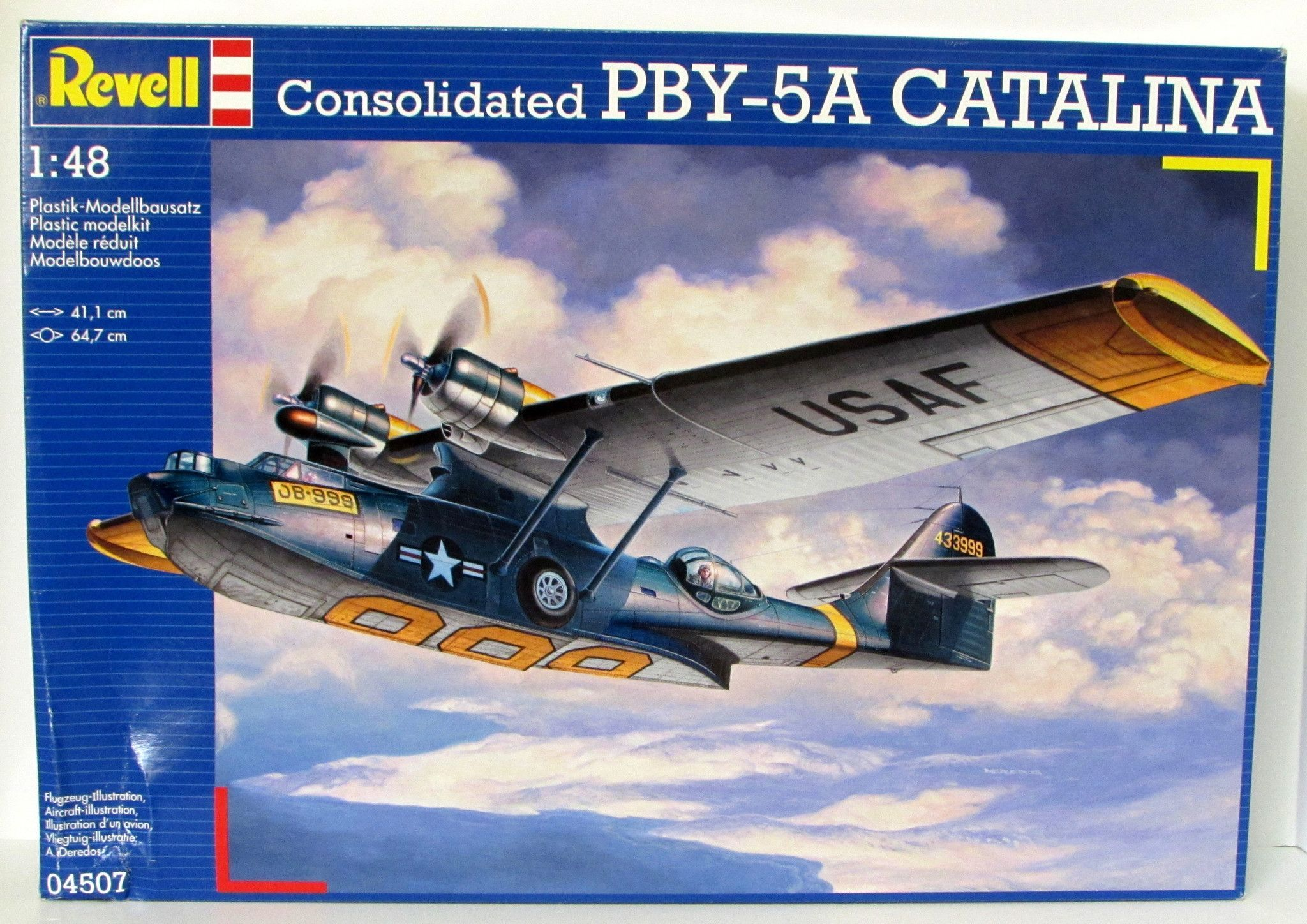 Consolidated PBY-5A Catalina Revell kit #04507 - 1/48 Scale New
