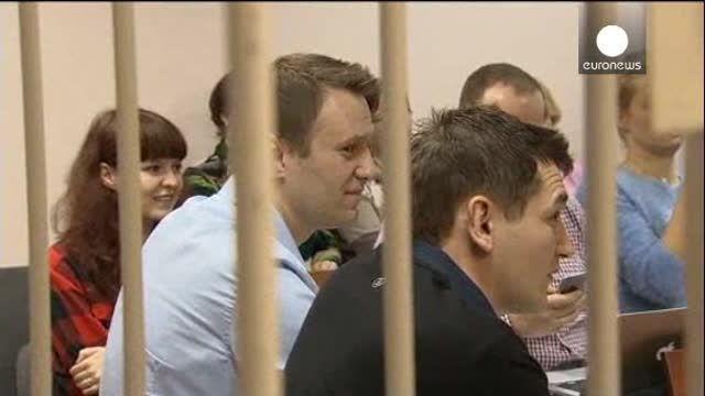 Un tribunal ruso adelanta a este martes el veredicto del opositor Navalny