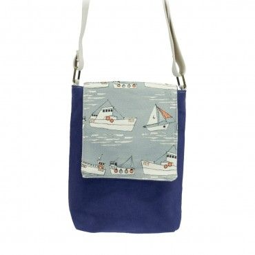 flotilla - mini messenger bag by Poppy Treffry