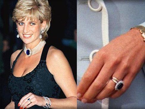 kate middleton receives princess dianas engagement ring - Princess Kate Wedding Ring