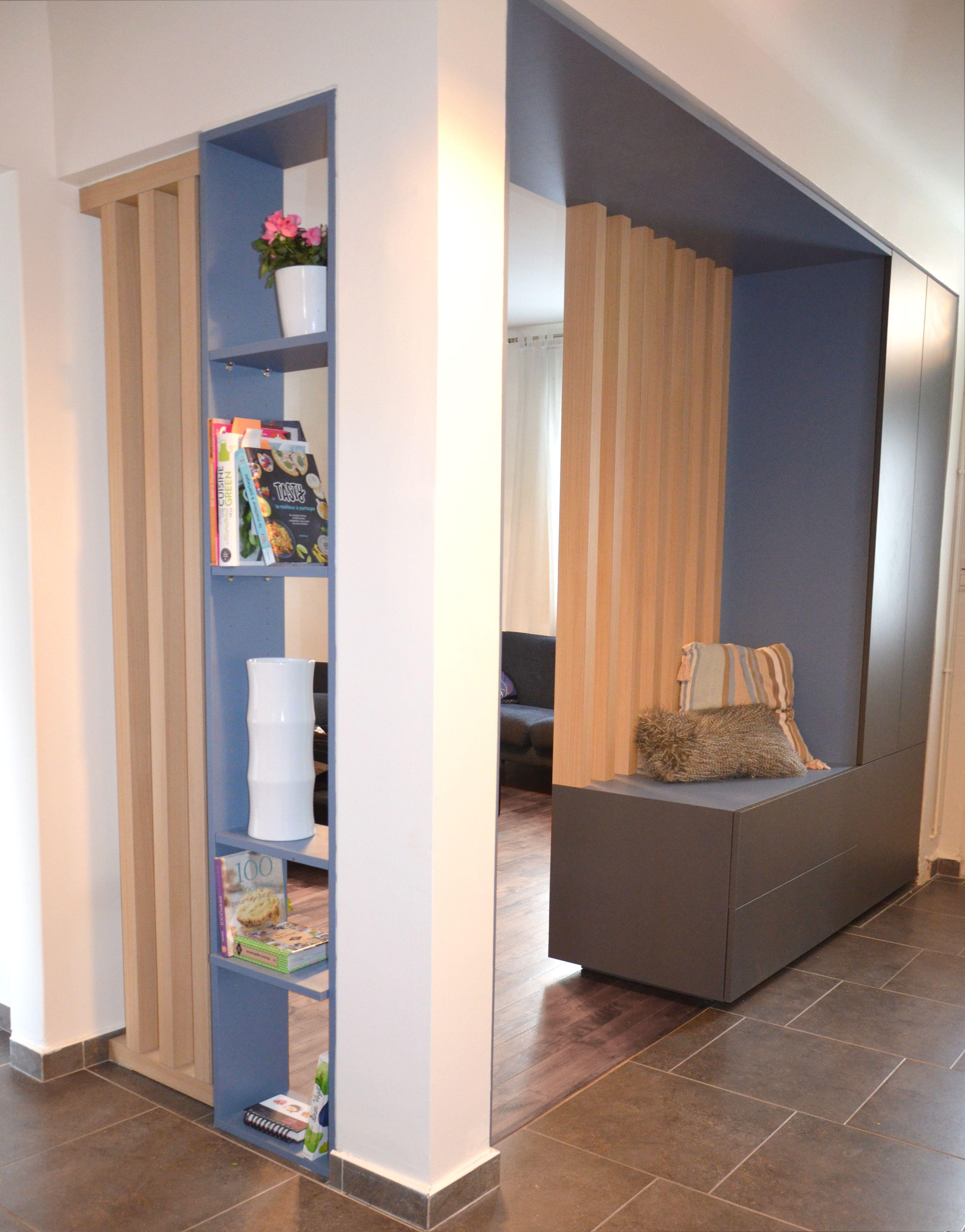 Meuble Separation Cuisine Salon meuble / placard d'entrée. séparation couloir et salon