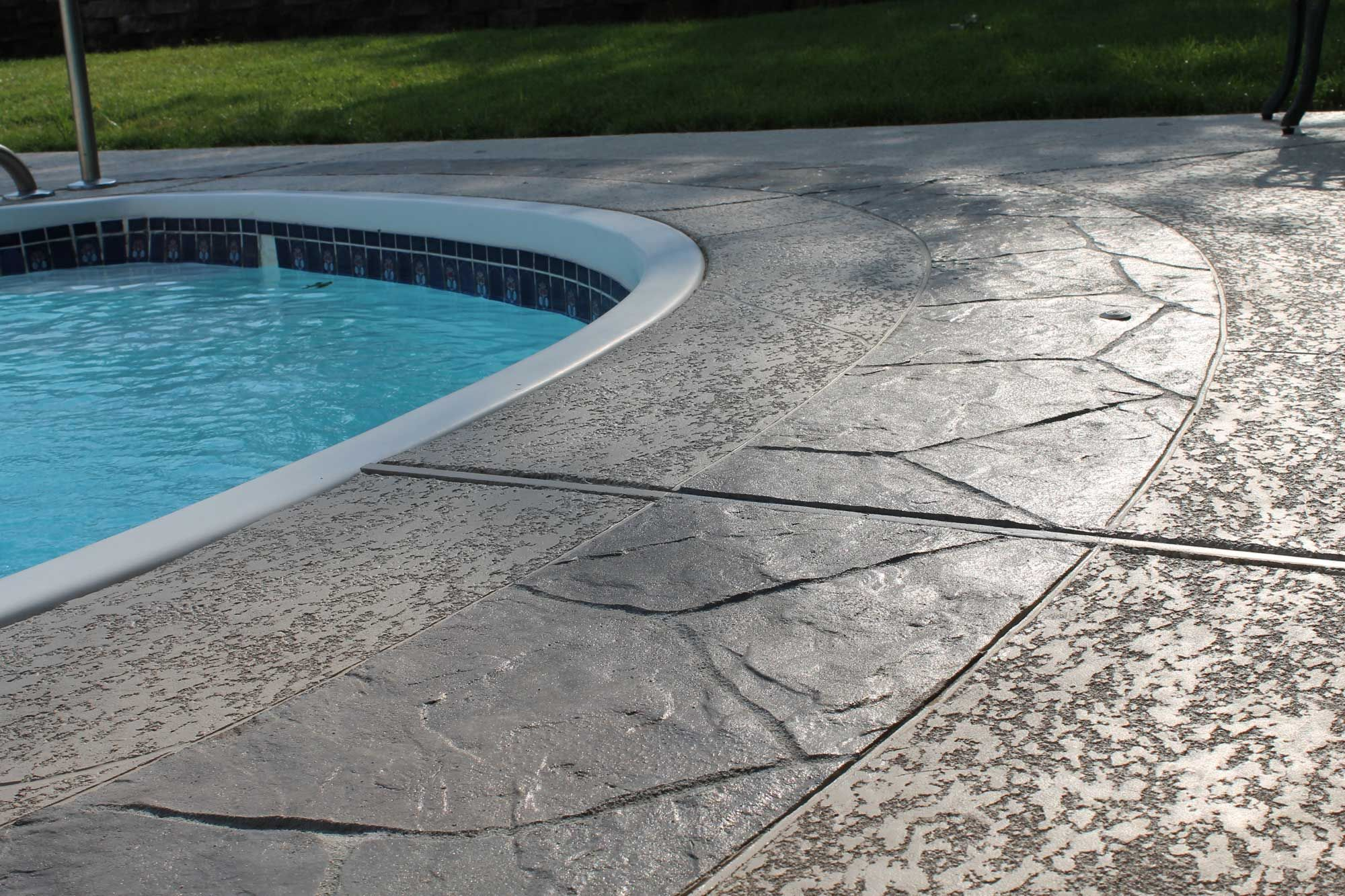 Sealing exposed aggregate pool deck - Seal Krete Manufactures A Complete Line Of Products For Priming Painting And Sealing Concrete Pool Decks