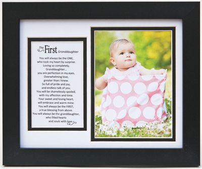 First Granddaughter Frame: 8x10 | Pinterest | Grandparents ...