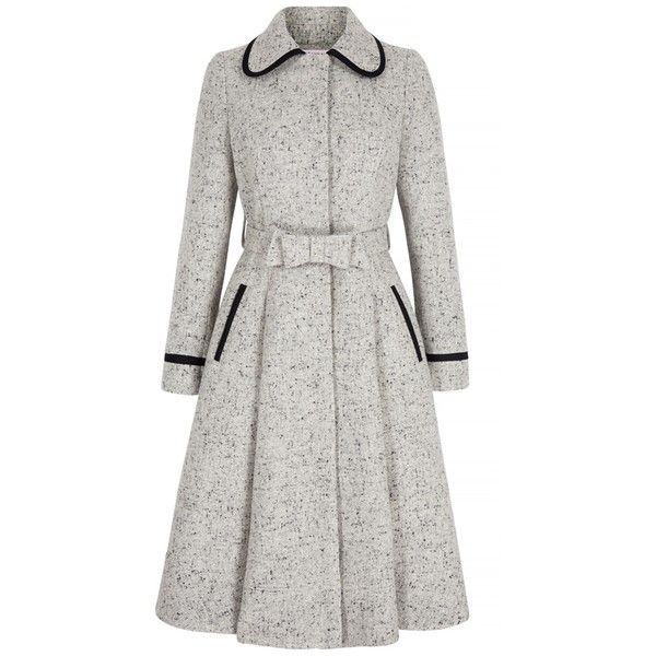 Classic-Wool-Fifties-Tweed-Coat-Bow ($ 1,540) Gefallen an ...