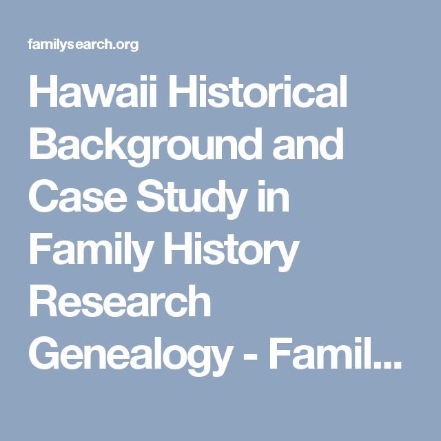 history of case study research
