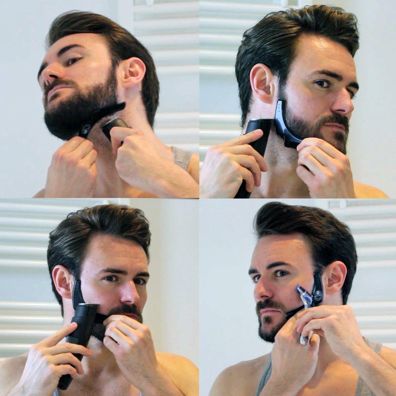 Anleitung bart rasieren Bart selber