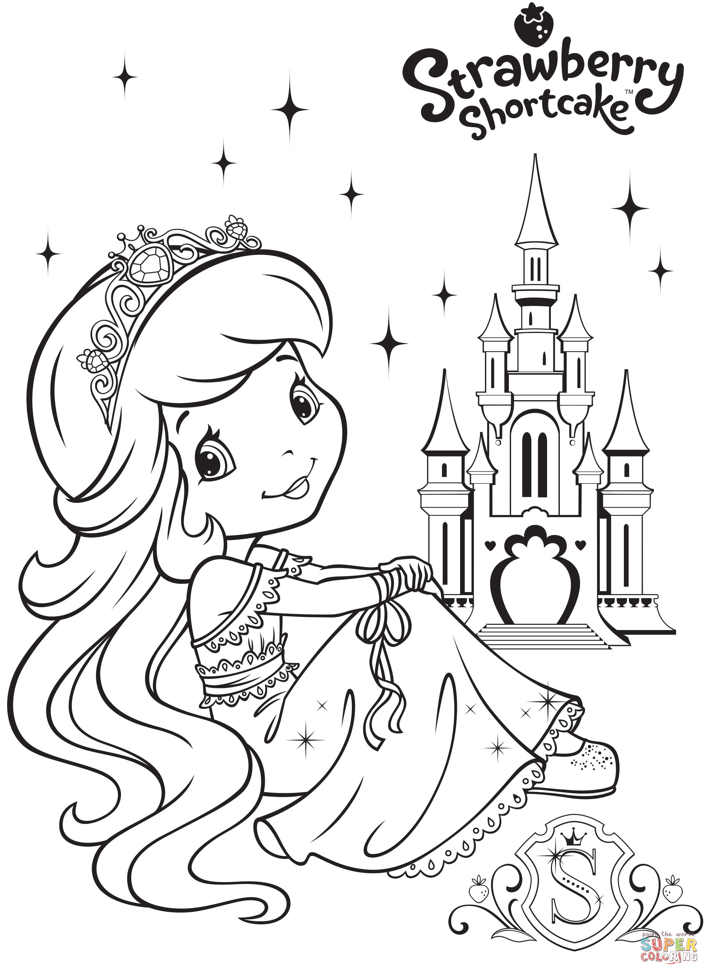 Super Coloring Pages For S