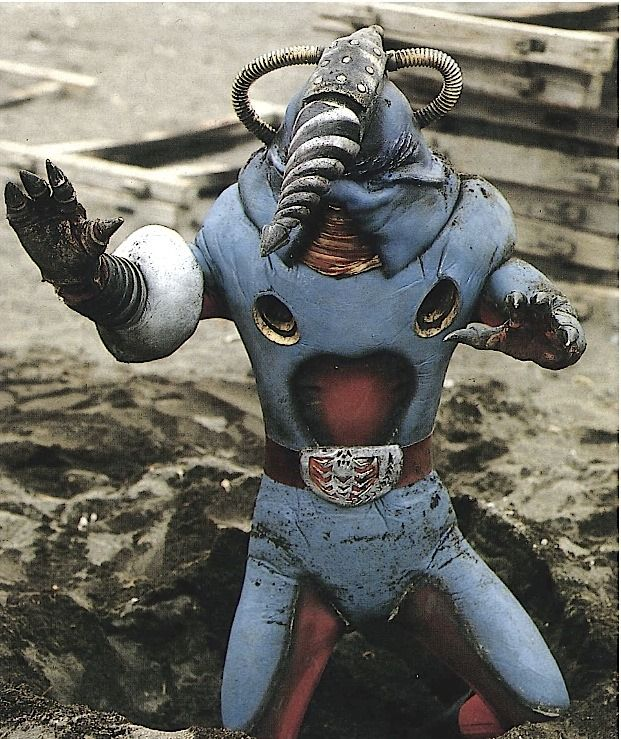 enzantengyou ドリルモグラ drill mole from eps 11 12 of kamen rider v3 japanese superheroes super hero costumes japanese monster