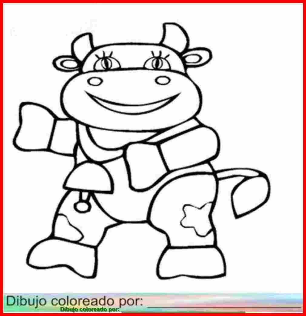 vaca para colorear.   Vacas, imprimir, colorear, pintar, decorar ...