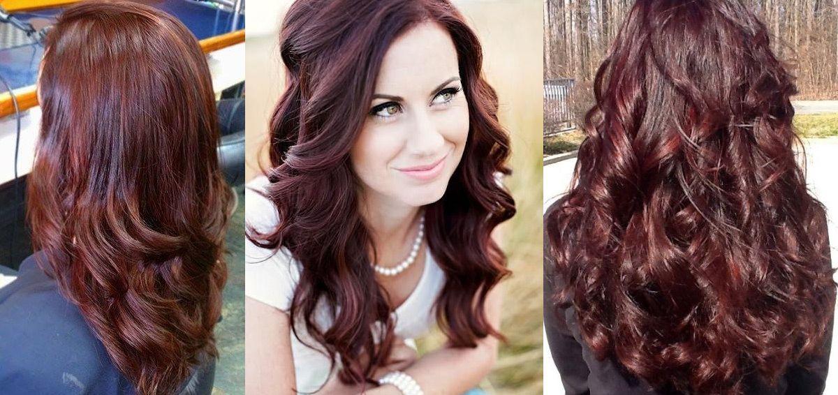 Chocolate Cherry Hair Dye Hair Color Ideas And Styles For 2018