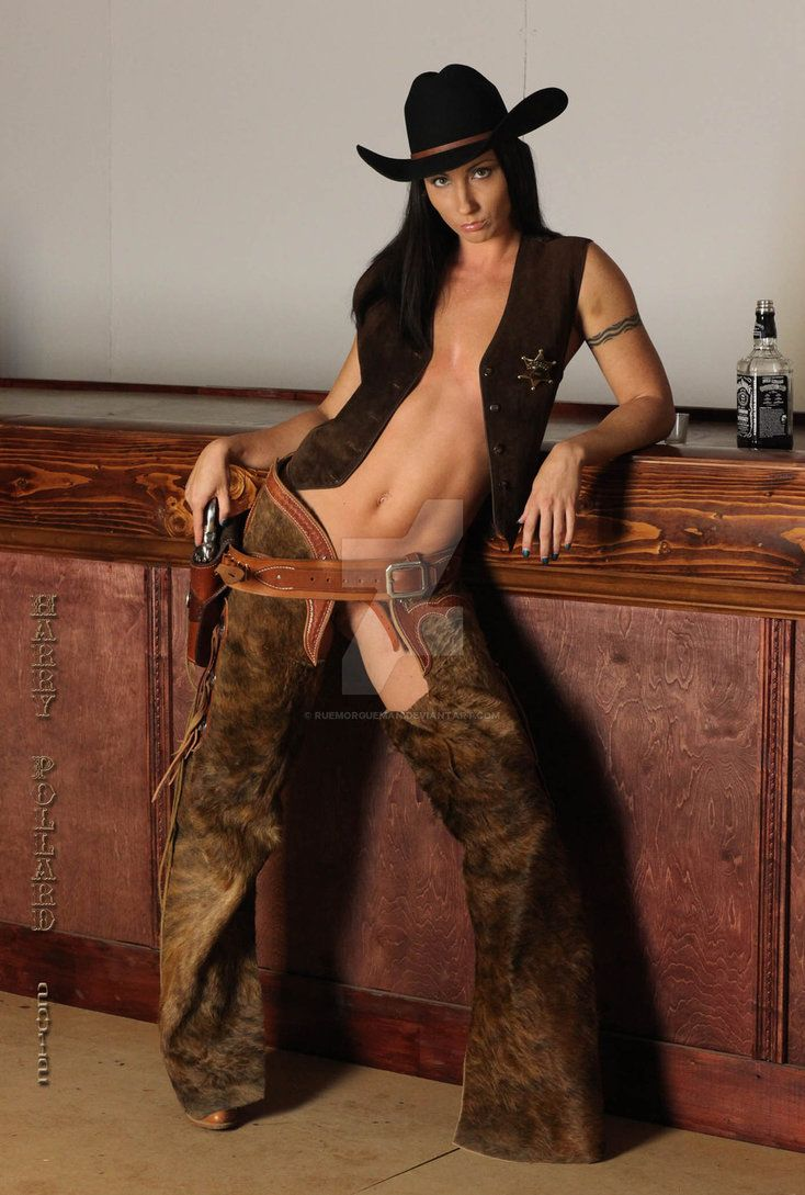 Naked girls in chaps pic — img 1