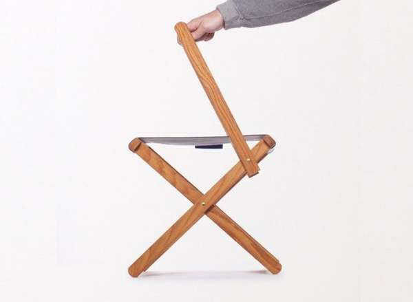 Captivating The Best Made Camp Chair Changes Into A Stool By Folding Down The Back  Trendhunter.