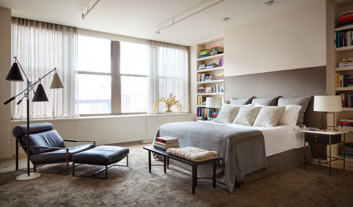 Industrial Bedroom In New York NY By Shawn Henderson Interior Design