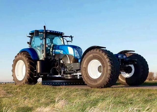 New Holland T7 Road Grader Grosse Traktoren Traktoren New Holland