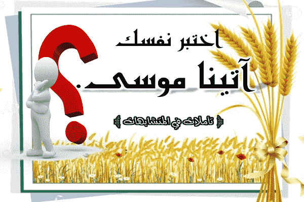 تأملات في المتشابهات آتينا موسى 14 موضعا في القرآن الكريم هل تستطيع معر Novelty Sign Decor Home Decor