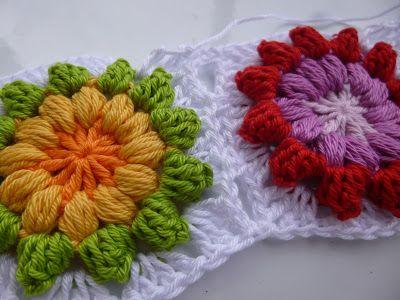 Häkeln im Quadrat: Step-by-Step: Mandala-Granny & Blogpause | Häkeln ...